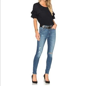 MOTHER High Wasted Jeans